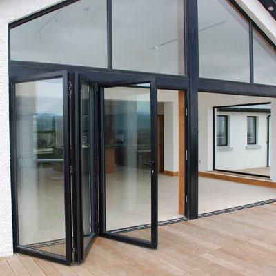 aluminium bi fold doors