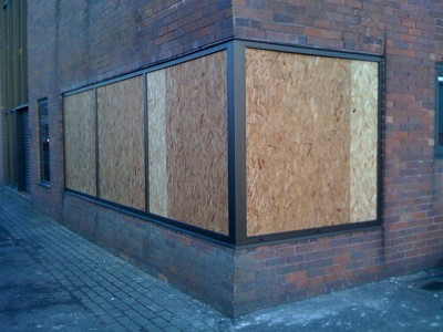 commercial glazing boarding